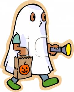 A_Child_Dressed_In_A_Ghost_Costume_Holding_A_Flashlight_Royalty_Free_Clipart_Picture_090828-191227-347042
